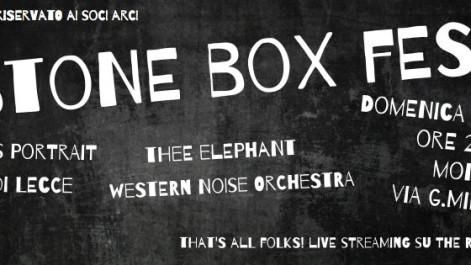 STONE BOX FEST @ MONK – CIRCOLO ARCI